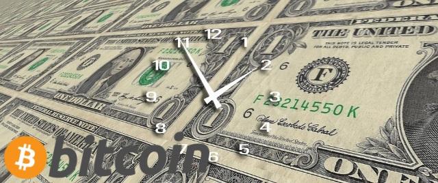 ビットコイン入金でかかる時間