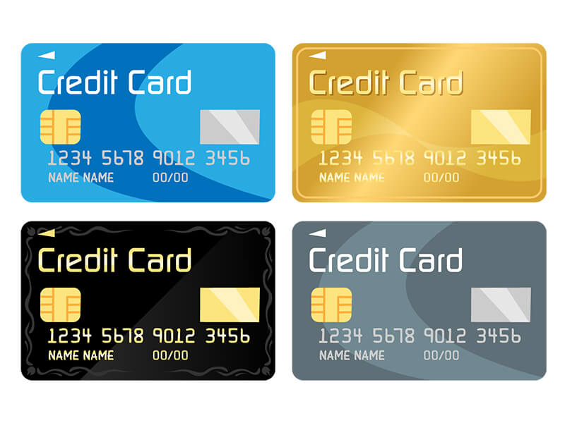 クレジットカード(デビットカード)を準備する
